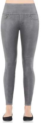 Spanx Wax Denim Leggings