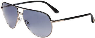 Tom Ford TF285 Cole Black & Gold-Tone Aviator Sunglasses