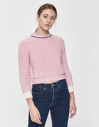 Marni Cropped Crewneck Sweater
