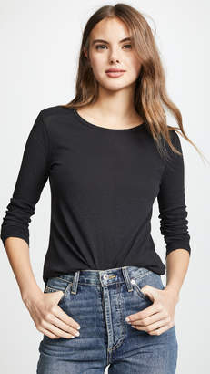 Madewell Whisper Cotton Long Sleeve Tee