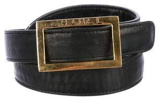 Chanel Leather Waist Belt
