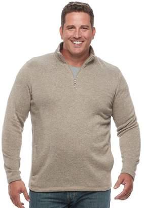 Croft & Barrow Big & Tall Classic-Fit Outdoor Fleece Sweater