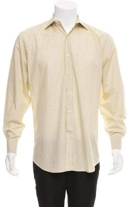 Etro Checkered Button-Up Shirt