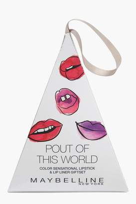 boohoo Maybelline Pout Perfect Christmas Gift Set