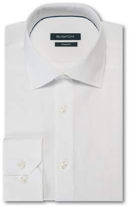 Bugatchi Trim Fit Solid Dress Shirt