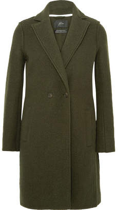 J.Crew Daphne Wool-felt Coat - Green