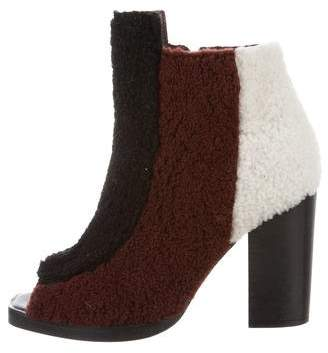 Opening Ceremony Elise Shearling Booties