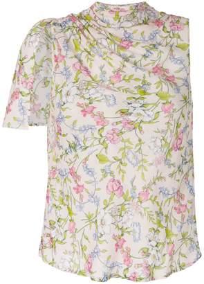 Twin-Set floral-print blouse