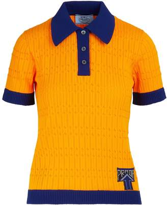 Prada Short-sleeved polo shirt