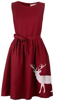Palava Mabel Reindeer Linen Dress