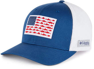 Columbia Men Pfg Mesh Fish Flag Ball Cap