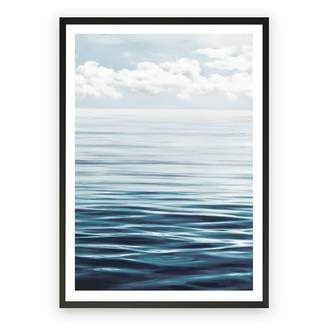 The Print Emporium Ocean Horizon Framed Art Print, Black Frame 30x42cm