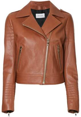 Yves Salomon classic biker jacket