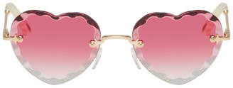 Chloé Pink Rosie Sunglasses