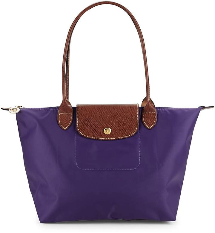 Longchamp Women's Two-Tone Top Handle Bag - AMETHYST - STYLE