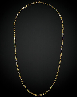 Italian Gold 14K Ultralight Necklace