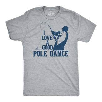 f4272fc3 Crazy Dog T-shirts Crazy Dog Tshirts Mens I Love A Good Pole Dance Tshirt