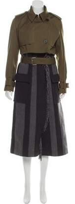Derek Lam Cargo Long Coat w/ Tags