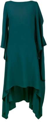 Sies Marjan sleeveless draped asymmetric dress
