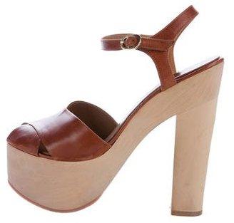 Laurence Dacade Titan Platform Sandals $125 thestylecure.com