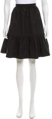 AR+ AR Flared Knee-Length Skirt