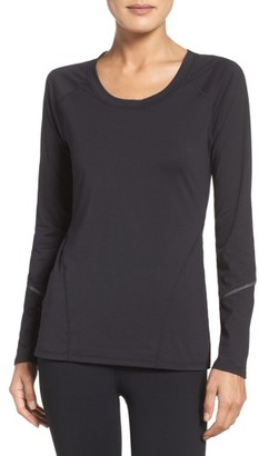 Women's Zella Leia Run Tee $59 thestylecure.com