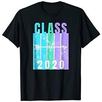 Class Of 2020 T-Shirt Distressed Retro Senior School Gifts