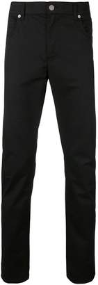 Moschino rubber patch slim-fit jeans