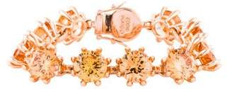 Eddie Borgo Crystal Estate Bracelet