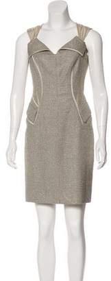 Zac Posen Tweed Sheath Dress