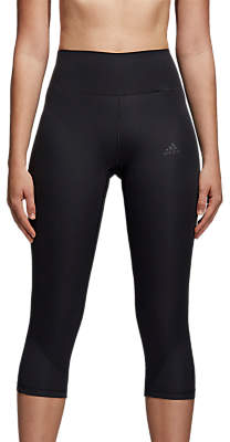 adidas Ultimate Climalite Cropped Tights, Black