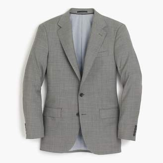 J.Crew Ludlow Slim-fit wide-lapel suit jacket in grey stretch Italian worsted wool
