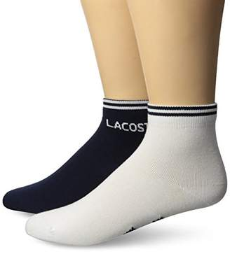 Lacoste Men's 2 Pack Jersey Sock