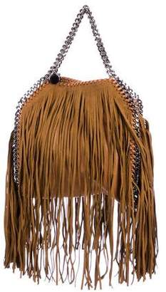 Stella McCartney Shaggy Deer Mini Falabella Fringe Tote