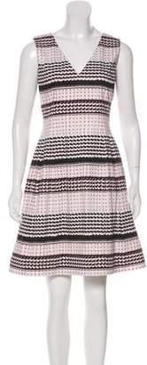 Prabal Gurung Geometric Print Mini Dress White Geometric Print Mini Dress