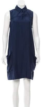 Victoria Beckham Victoria Silk Sleeveless Dress