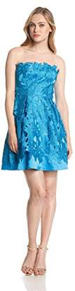 Adrianna Papell Women's Strapless A-Line Party Dress, 8