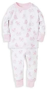Kissy Kissy Baby Girl's Pooches Pajama Set