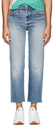 RE/DONE Women's High-Rise Stovepipe Crop Levi's® Jeans