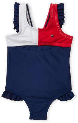 24f2344be Tommy Hilfiger Infant Girls) Ruffled One-Piece Swimsuit