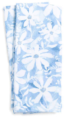 2pk Floral Garden Kitchen Towels
