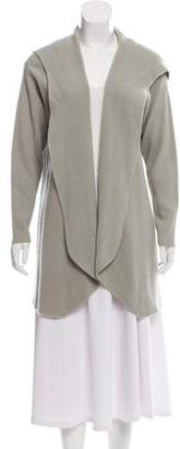 Calvin Klein Collection Cashmere Hooded Cardigan