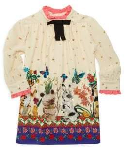 Gucci Little Girl's & Girl's Cute Friends Crepe Top