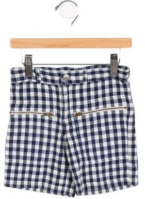 Stella McCartney Boys' Gingham Shorts $45 thestylecure.com