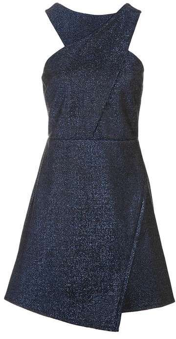 TopshopTopshop Cross front a-line dress