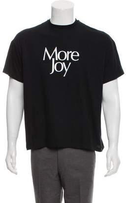 Christopher Kane 2018 More Joy T-Shirt w/ Tags