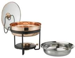 Old Dutch Chafing Dish and Glass Lid