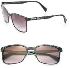 Italia Independent I-Metal 52MM Rectangle Sunglasses