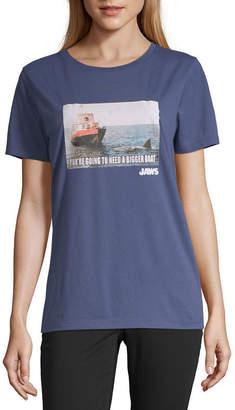 Universal Short Sleeve Graphic T-shirt-Juniors