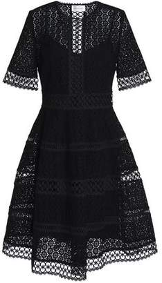 Zimmermann Woman Broderie Anglaise Cotton Dress Black Size 0 Zimmermann From China Fashionable Sale Online Low Price Fee Shipping 05YT0MT